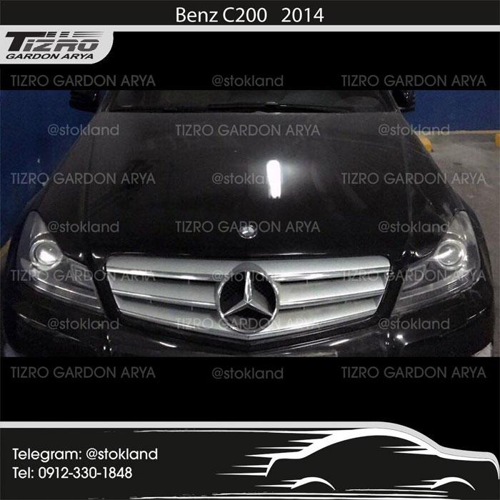 کاپوت، گلگیرها، چهار تا درب Benz C 200 2014